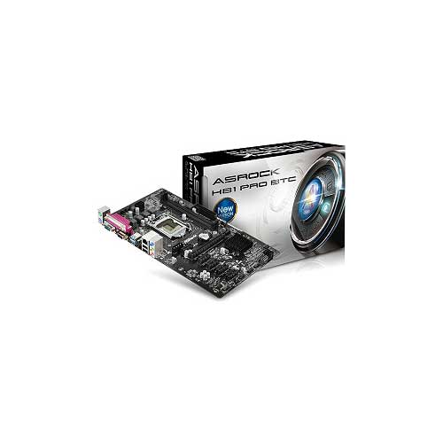 ASRock H81 Pro BTC Motherboard