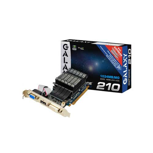 Galaxy NVIDIA GT 210 1GB DDR3 Graphic Cards
