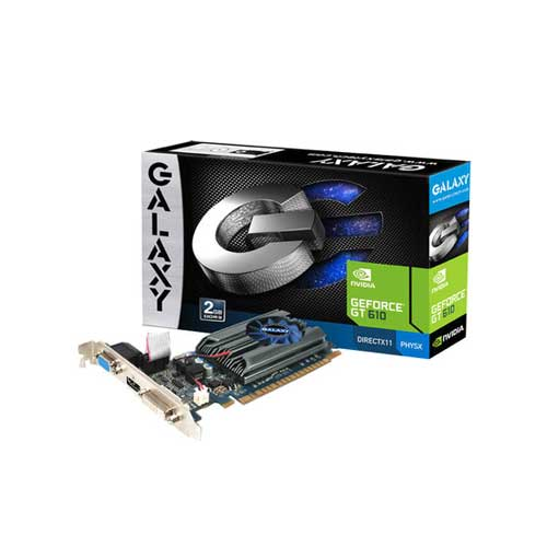 Galaxy NVIDIA GT 610 2GB DDR3 Graphic Cards
