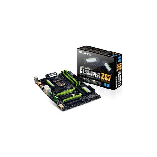 Gigabyte G1. SNIPER Z87 Motherboard
