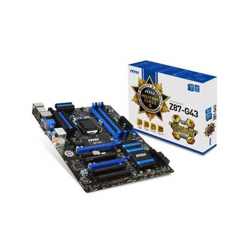 MSI Z87-G43 LGA 1150 Intel Z87 Motherboard
