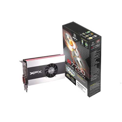 XFX HD 7750 1GB DDR5 Graphic Cards