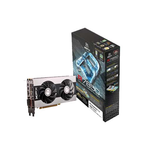 XFX HD 7850 2GB DDR5 Dual DVI Graphic Cards
