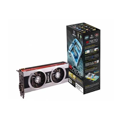 XFX HD 7870 2GB GDDR5 Dual DVI Graphic Cards