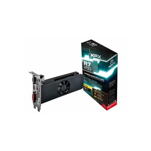 XFX Radeon R7 250 R7-250A-ZLF4 1GB DDR5 Graphic Card