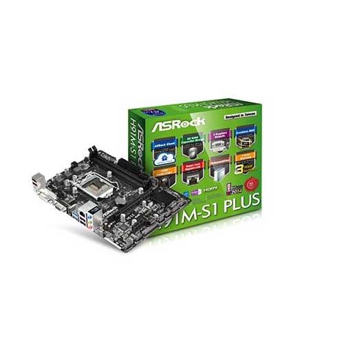 Asrock H91M-S1 Plus Micro ATX Motherboard