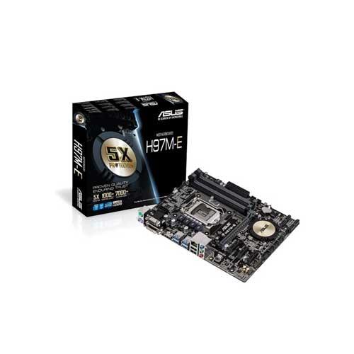 ASUS H97M-E Socket 1150 Motherboards