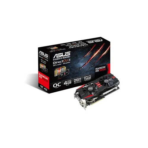 ASUS R9 290X R9290X-DC2OC-4GD5 Graphic Card