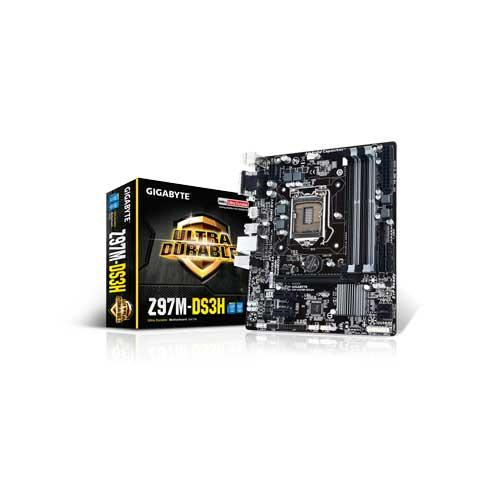 Gigabyte GA-Z97M-DS3H Z97 Motherboard