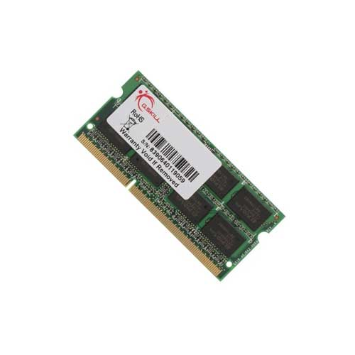 Gskill F3-12800CL9D-4GBSQ Notebook RAM