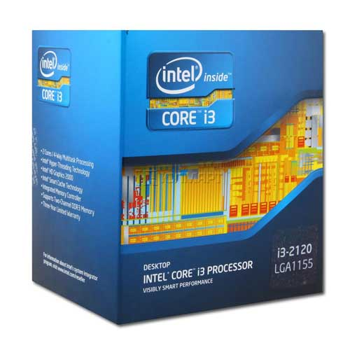 Intel 3.3 GHz Core i3 2120 Processor