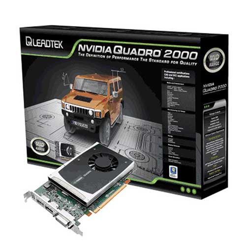 Leadtek NVIDIA Quadro 2000 Graphic Card