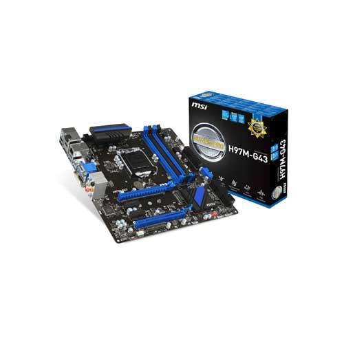 MSI H97M-G43 LGA 1150 Motherboard