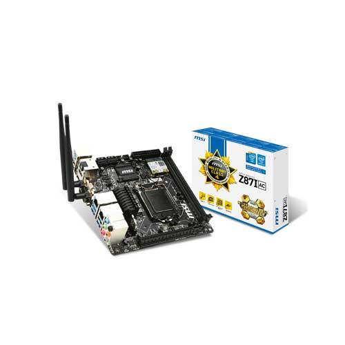 MSI Z87I-AC LGA 1150 Motherboard
