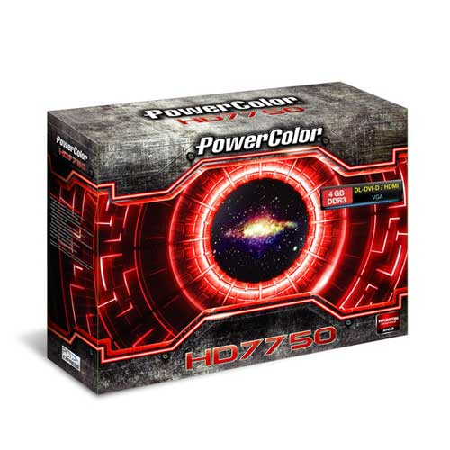 PowerColor HD7750 4GB DDR3 Graphic Card