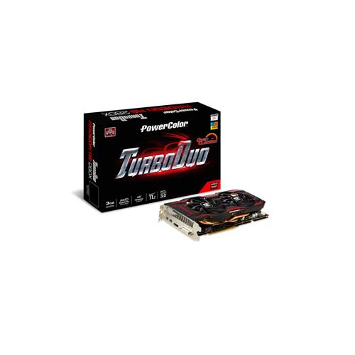 PowerColor TurboDuo AXR9 280X 3GBD5-T2DHE/OC Graphic Cards