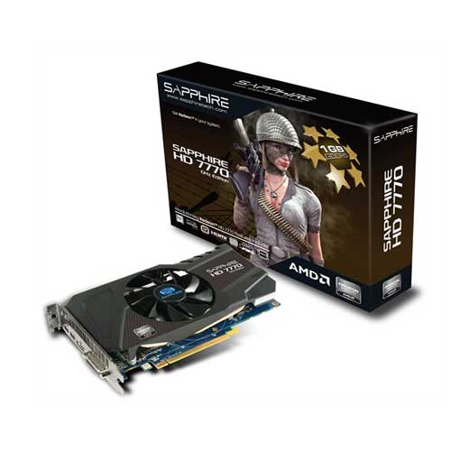 Sapphire HD 7770 Edition GHz Graphic Card