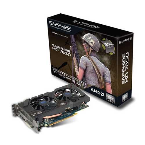 Sapphire HD7850 2GB GDDR5 Graphic Card