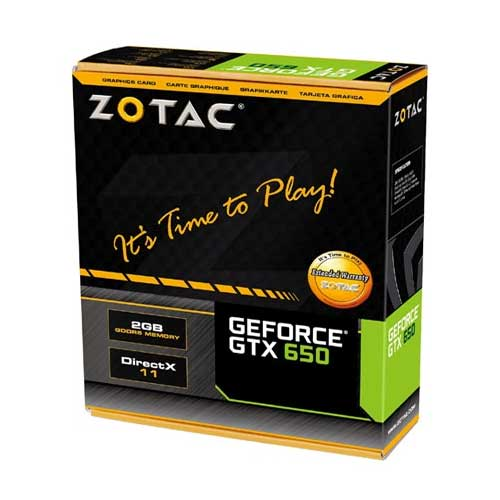 Zotac GeForce GTX 650 Graphic Card