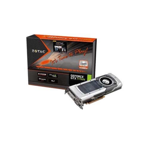 ZOTAC GeForce GTX TITAN 6GB Graphic Cards