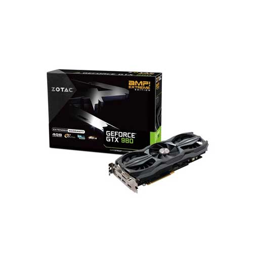 ZOTAC GTX 980 AMP! ZT-90203-10P Extreme Edition Graphic Cards
