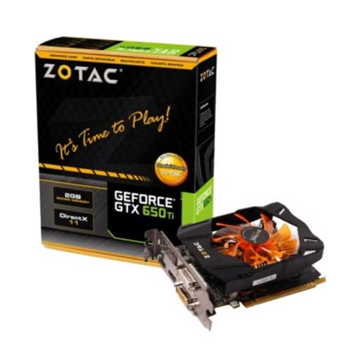 Zotac NVIDIA GTX 650 TI 2GB GDDR5 Graphic Card