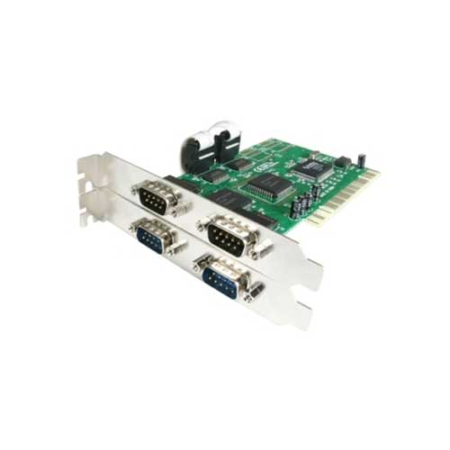 4 COM ports PCI to Serial 4-port host controller card