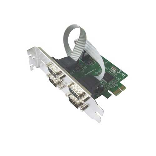 4 Port PCI Express to Serial Port Card