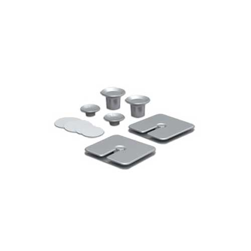 Bluelounge Silver Notebook Kit - NBK01SL