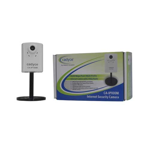 CADYCE Megapixel 1MP Internet Camera with 2-Way Audio