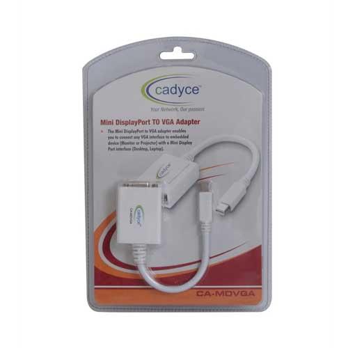 CADYCE Mini DisplayPort to VGA Adapter