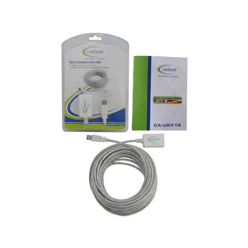 CADYCE USB 2.0 Extension Cable 12MP Active