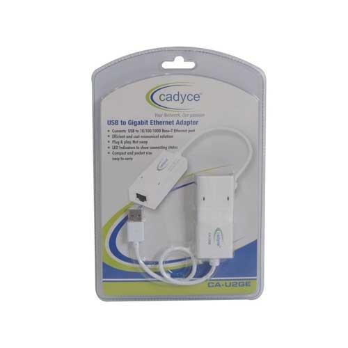 CADYCE USB to Gigabit Ethernet Adapter