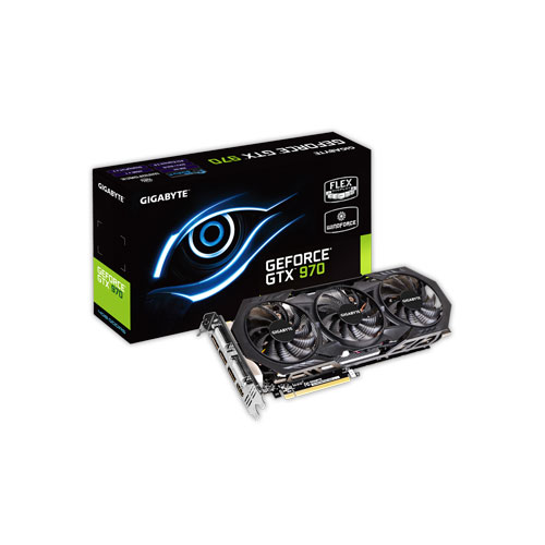GIGABYTE GTX 970 GV-N970WF3OC-4GD WINDFORCE 3X Gaming Graphics Card