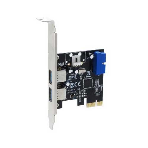 Sedna PCIE USB 3.0 4 Port Adapter SE-PCIE-USB3-4-20E