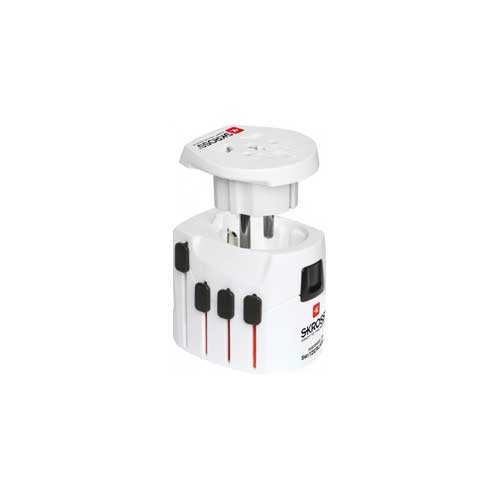 SKROSS World Travel Adapter 2 and USB Charger