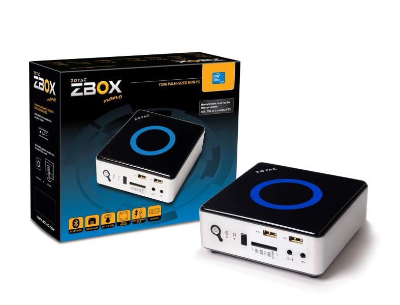 Zotac ZBOX nano ID63 ZBOXNANO-ID63-BE mini PC