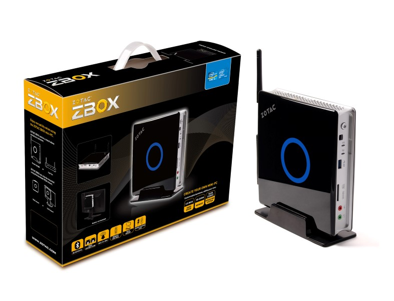 ZOTAC ZBOX ZBOX-ID88-BE HD Graphics 2500 Mini PC