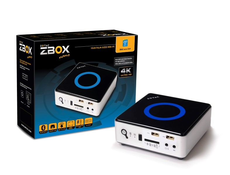 Zotac ZBOX nano ID69 ZBOXNANO-ID69-BE mini PC
