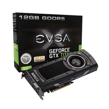 EVGA GeForce GTX TITAN X 12G-P4-2992-KR 12GB Graphic Card