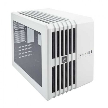 Corsair Carbide Series Air 240 Arctic White High Airflow MicroATX Cabinet