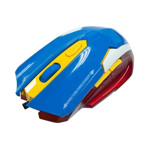 Dragon War ELE-G11 Wired Laser Red Gaming Mouse