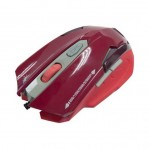 Dragon War ELE-G11 Wired Laser Dark Red Gaming Mouse