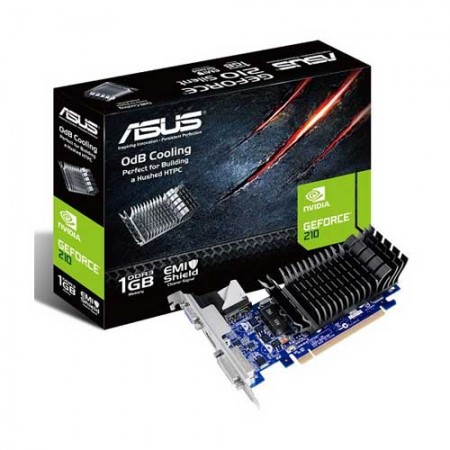 ASUS Geforce GT210 SL Graphic Card EN210 SILENT/DI/1GD3/V2(LP)