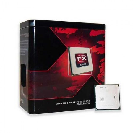 AMD FX-8350 Black Edition Vishera 8-Core 4.0GHz Desktop Processor