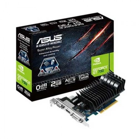 ASUS Geforce GT730-SL-2GD3-BRK Graphic Card