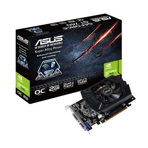ASUS Geforce GT740 OC 2GD5 Graphic Card