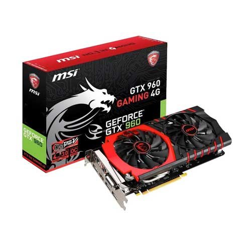 MSI GTX 960 GAMING 4G Graphic Card