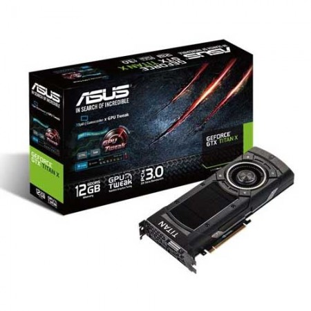ASUS GeForce GTX TITAN X GTXTITANX-12GD5 12GB Graphic Card