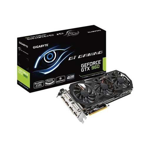 Gigabyte GTX960 4GB gaming  Graphic Card GV-N960G1 GAMING-4GD
